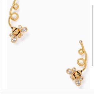 Kate Spade Bee Earrings NWT